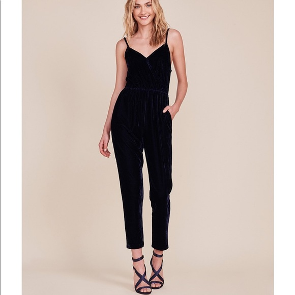 c24eec17ee6 Cupcakes and Cashmere velvet jumpsuit